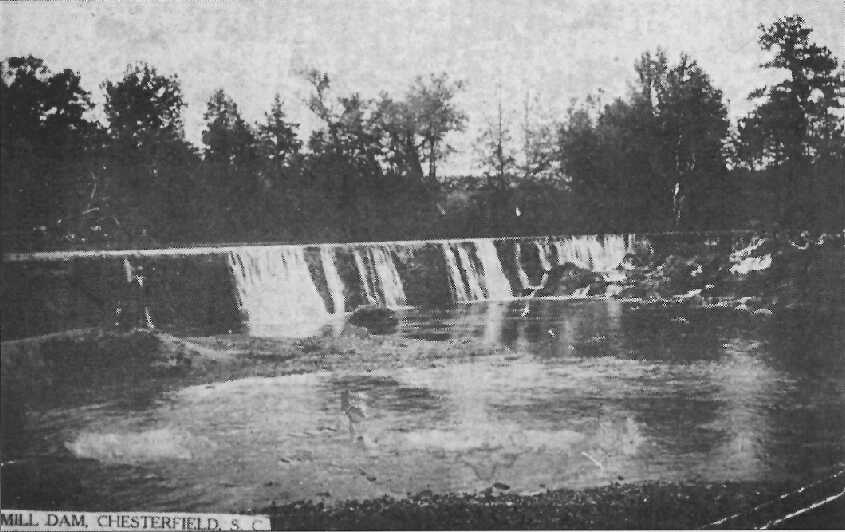 Craig Mill Dam - As it once was