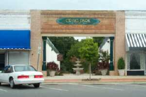 Craig Park Entrance from Main Street